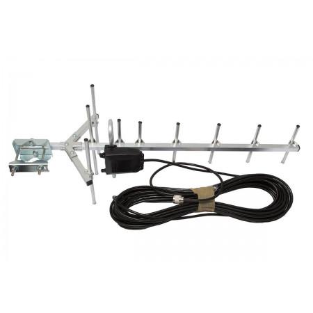 Antena GSM ATK 10 + 10 m z wtykiem N