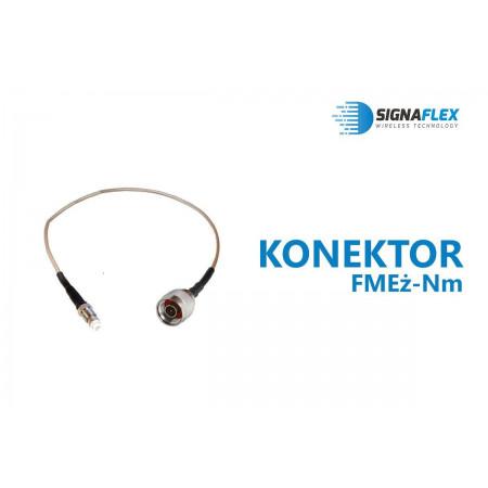 Konektor H155/LMR240 15m Nm-FMEż