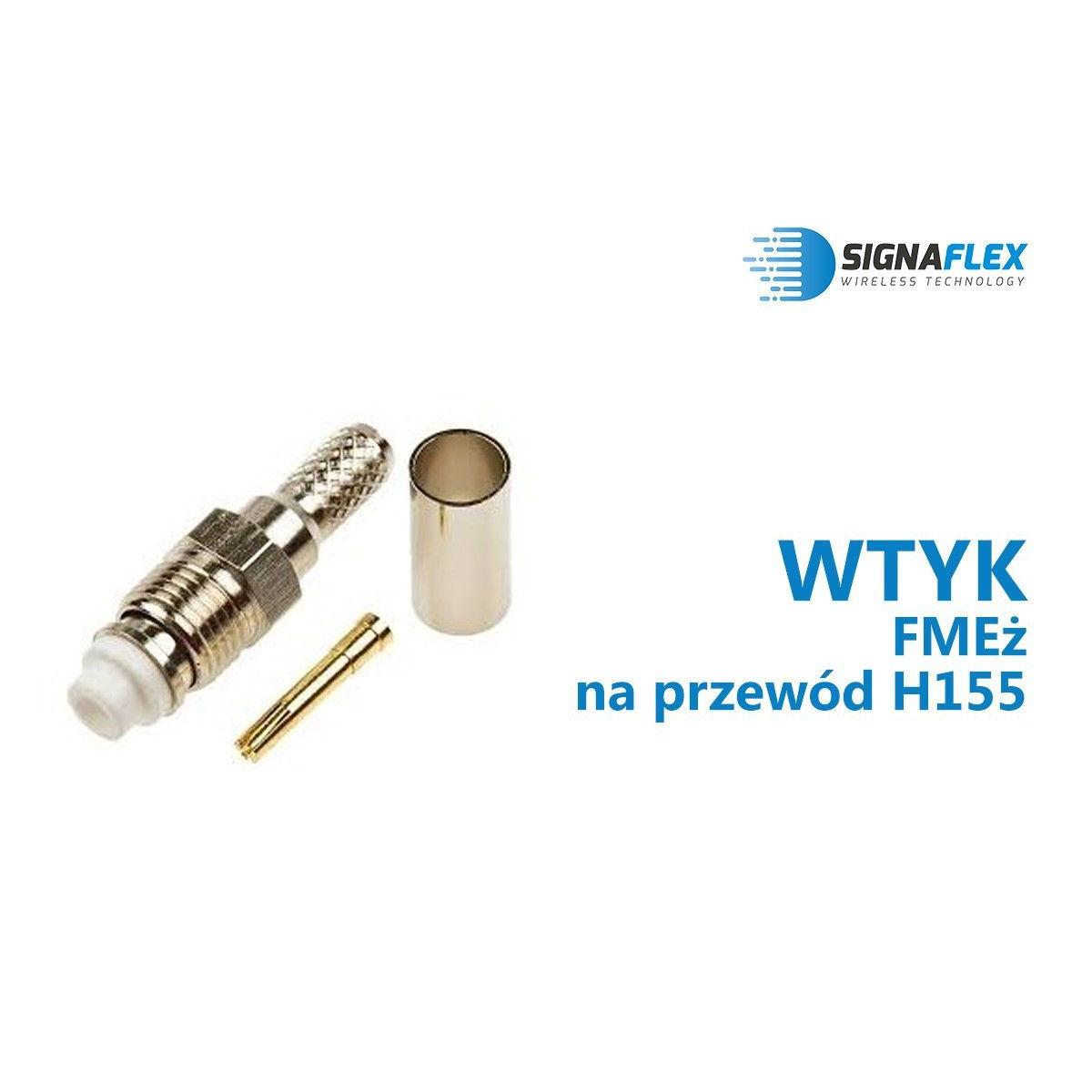 Wtyk FMEż na przewód EKH155/SRF240