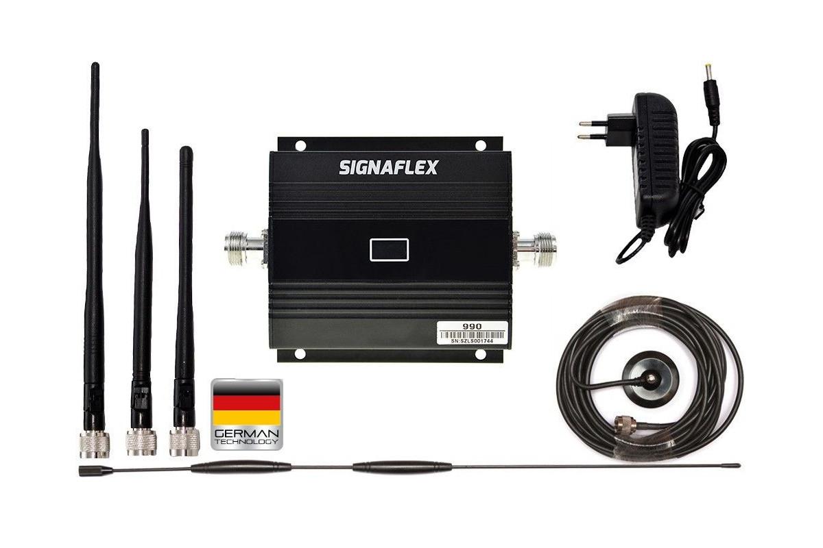 Komplet GSM Silver (Black) LCD Omni z bat