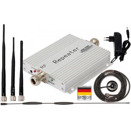 Komplet wzmacniający sygnał GSM Silver Omni z bat