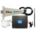 Komplet GSM/UMTS/DCS Black LCD Tajfun z grzybkiem