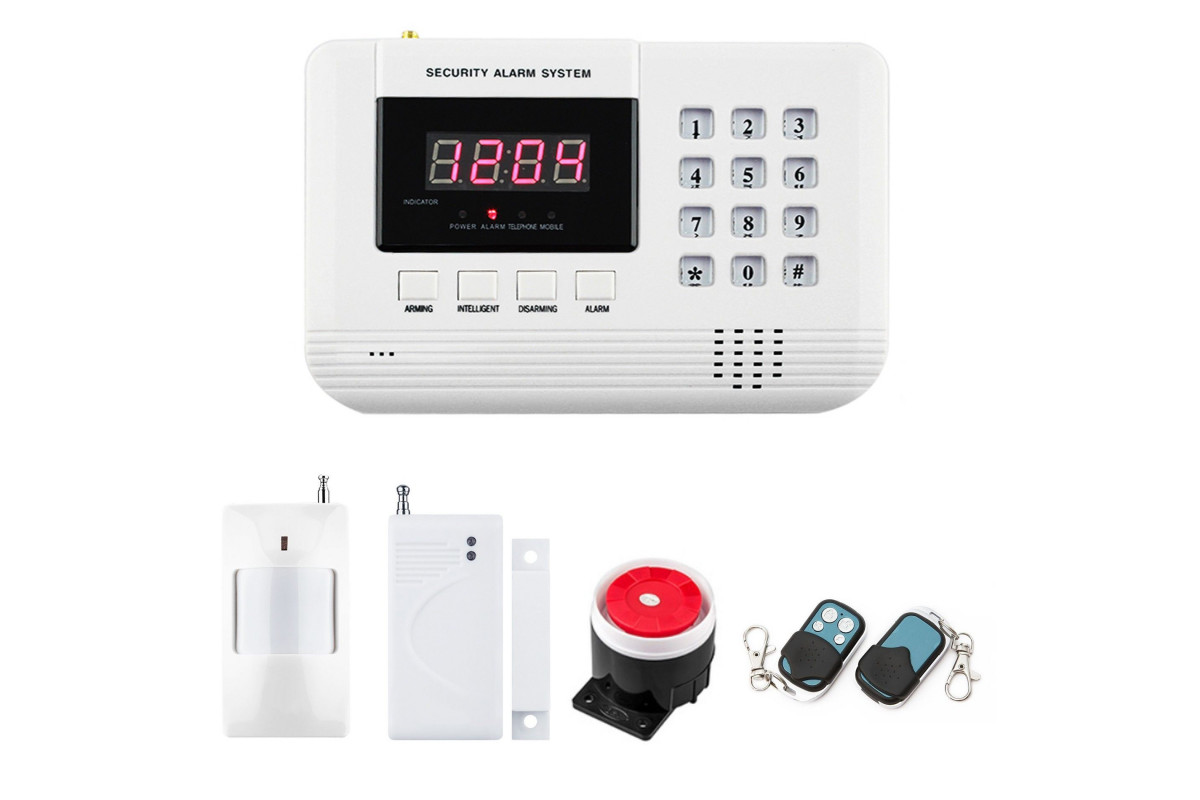 Alarm GSM inteligentny z klawiaturą BOX
