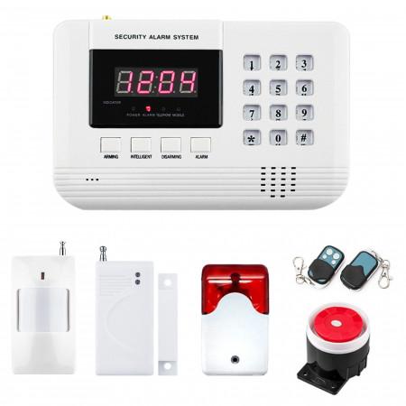 Alarm GSM inteligentny Kolor BOX + syrena świetlna