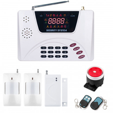Alarm GSM inteligentny Kolor BOX + 1pir