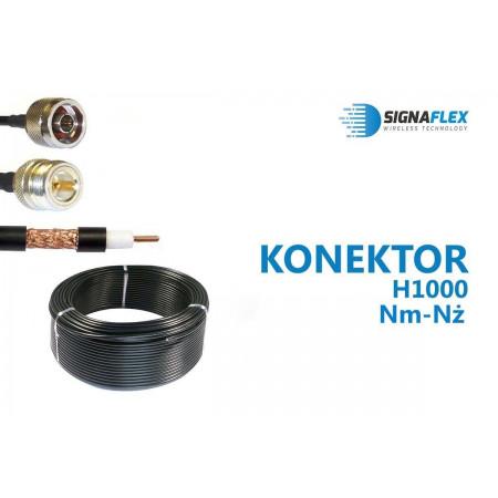 Konektor 20m LMR400/H1000 Nm-Nż