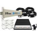 Komplet GSM/UMTS/DCS TRIPLE Tajfun z 3x grzybek