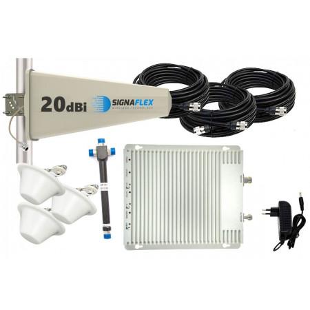 Komplet GSM/UMTS/DCS SZARY Tajfun 3x grzybek