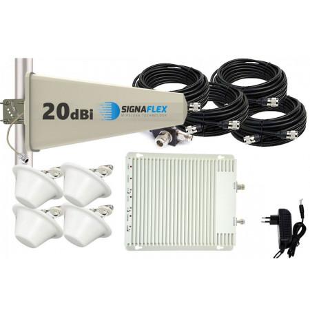 Komplet GSM/UMTS/DCS SZARY Tajfun 4x grzybek
