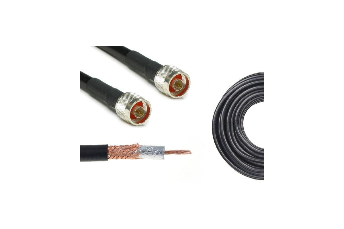 Konektor 1m H155/LMR240 Nm-Nm
