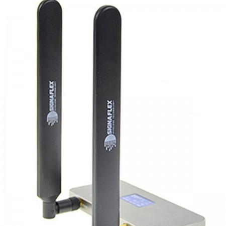 2 x Antena bat 4G LTE black 12 dbi + SMA
