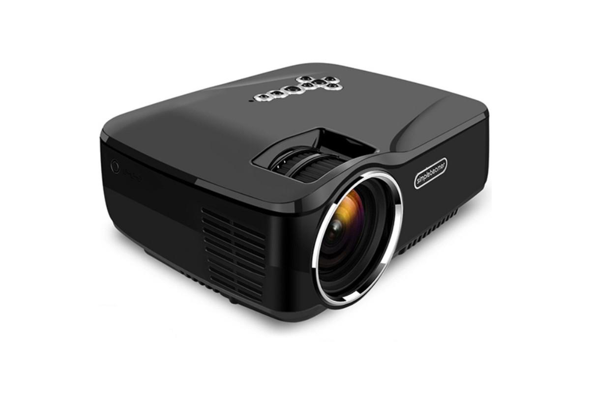 Projektor LED Simple Beamer GP70UP