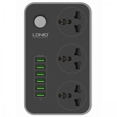 Listwa ładująca / rozgałęźnik / przedłużacz LDNIO 6x USB