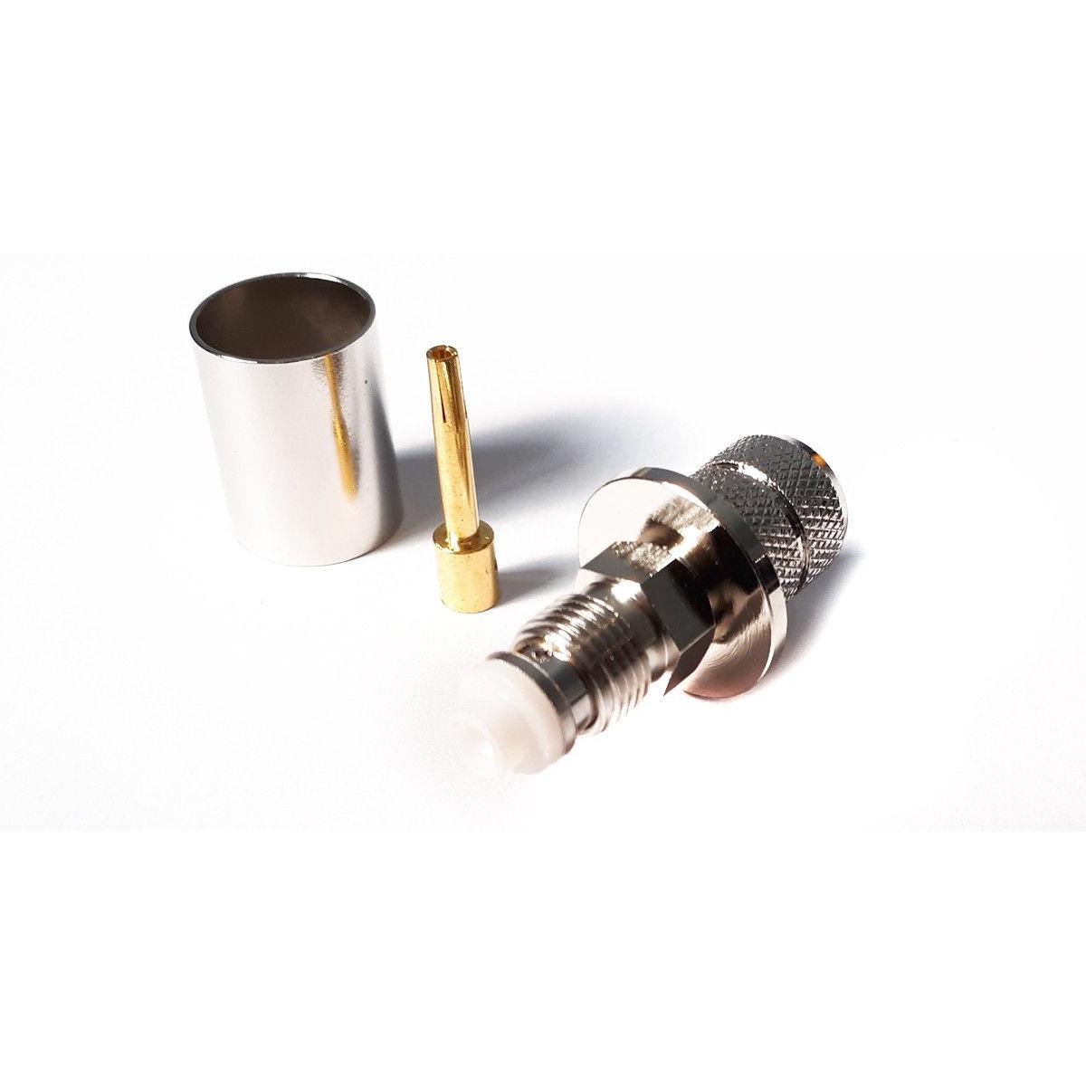 Wtyk FMEż zaciskany na przewód H1000/LMR400