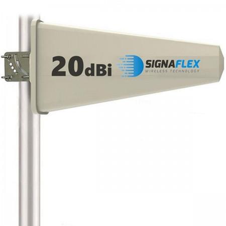 Antena Tajfun 20dBi 15m z wtykiem N