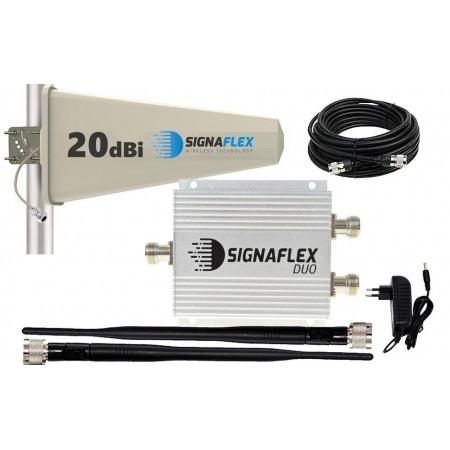 Komplet GSM DUO Signaflex Tajfun 15m 2 x bat