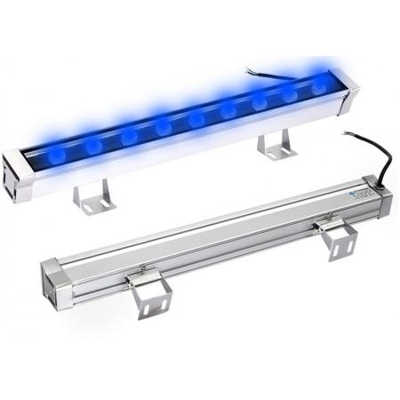 Mocna lampa listwa LED efektowne podświetlenie na dom - niebieska