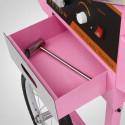 Maszyna do Waty Cukrowej XXL + Wózek + Pokrywa