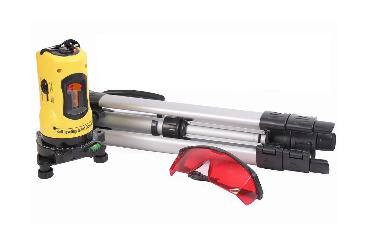 Laser krzyżowy poziomica laserowa SONIX + statyw