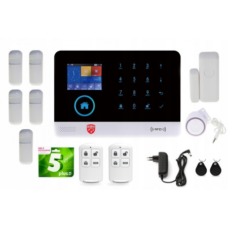 Alarm GSM Guardian III WIFI 3G  BOX
