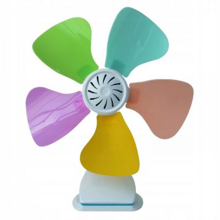 Kolorowy wentylator biurkowy wiatrak CRONOS 26cm
