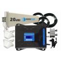 Komplet wzmacniacz Cube GSM/3G/4G LTE Tajfun z 2x grzybek