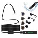 Endoskop kamera inspekcyjna WIFI fullHD 8mm 10m IP