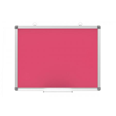 Tablica magnetyczna suchościeralna - 120x90 cm różowa