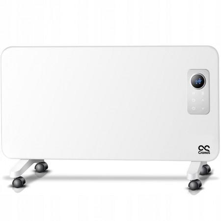 Grzejnik elektryczny Cronos 1000W WiFi LCD z kółkami