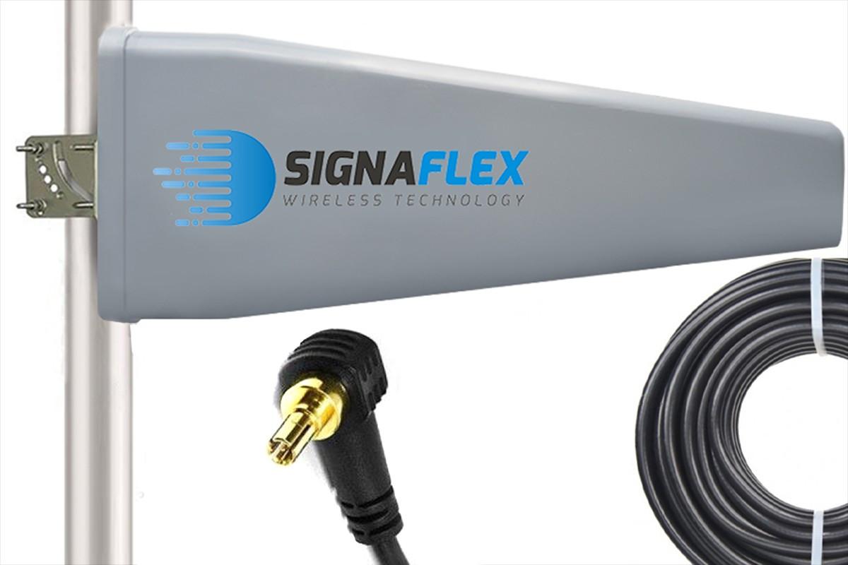 Antena Tajfun II 23 dBi 15 m FME + konektor CRC9