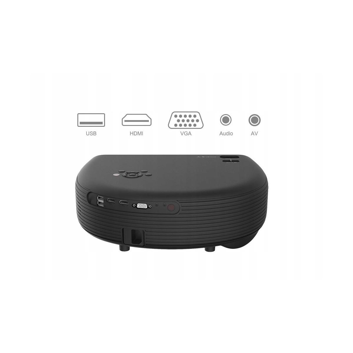 Projektor LED MAXLED CL760 3D + Tuner TV - Sklep New-Electric