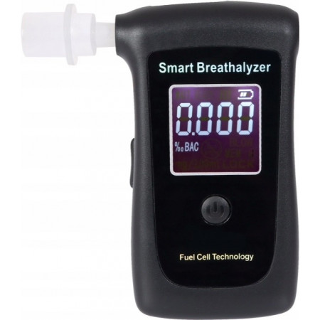 Alkomat elektrochemiczny SMART BREATHALYZER AT010