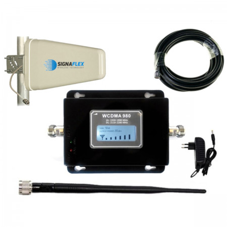 Komplet UMTS Black LCD Tsunami z bat