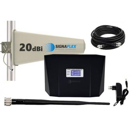 Komplet GSM/DCS czarny ABS Tajfun z bat