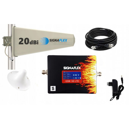 Komplet GSM/DCS Fire Tajfun z grzybek