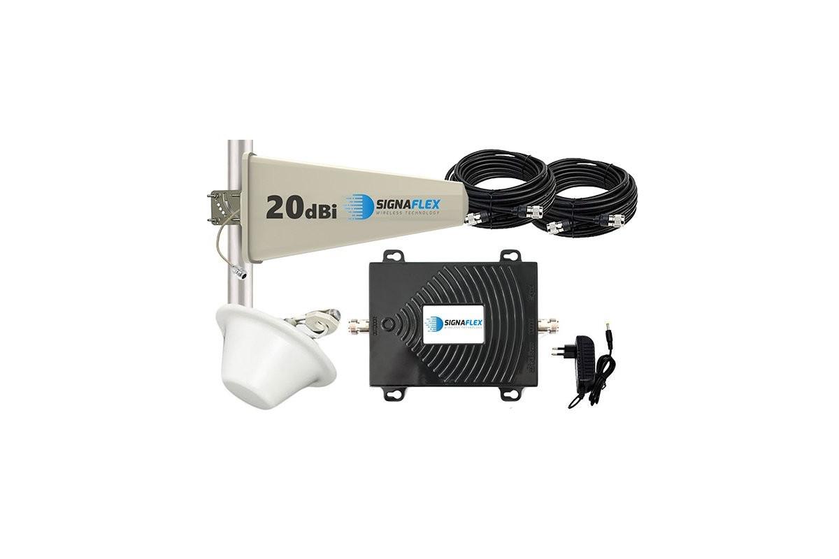 Komplet GSM/UMTS/EGSM Black Tajfun z grzybkiem