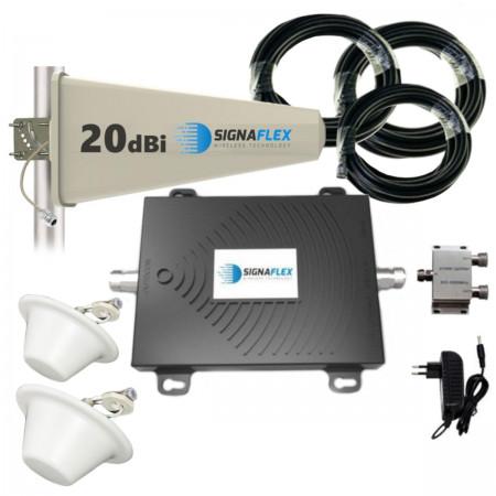 Komplet GSM/UMTS/EGSM Black Tajfun z 2x grzybek