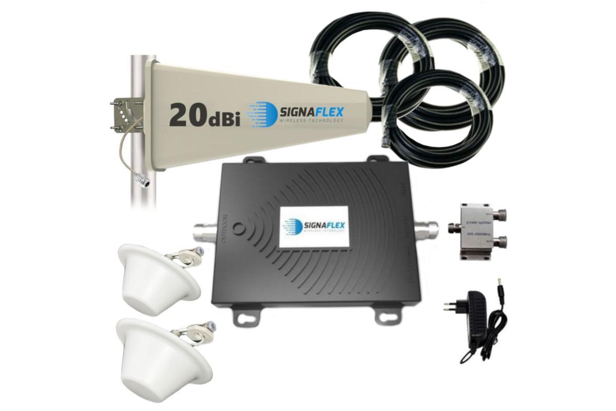 Komplet GSM/UMTS/EGSM Black Tajfun z 2xgrzybek