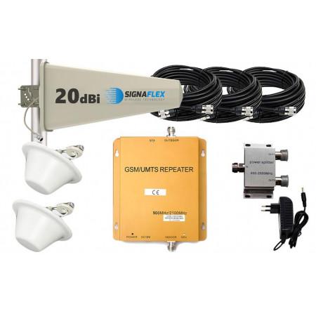 Komplet GSM/UMTS DUŻY Tajfun z 2x grzybek