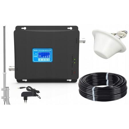 Komplet wzmacniacz GSM/UMTS LCD2000 Transdata z grzybkiem