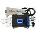 Komplet wzmacniacz Cube GSM/3G/4G LTE Tajfun z 3x grzybek
