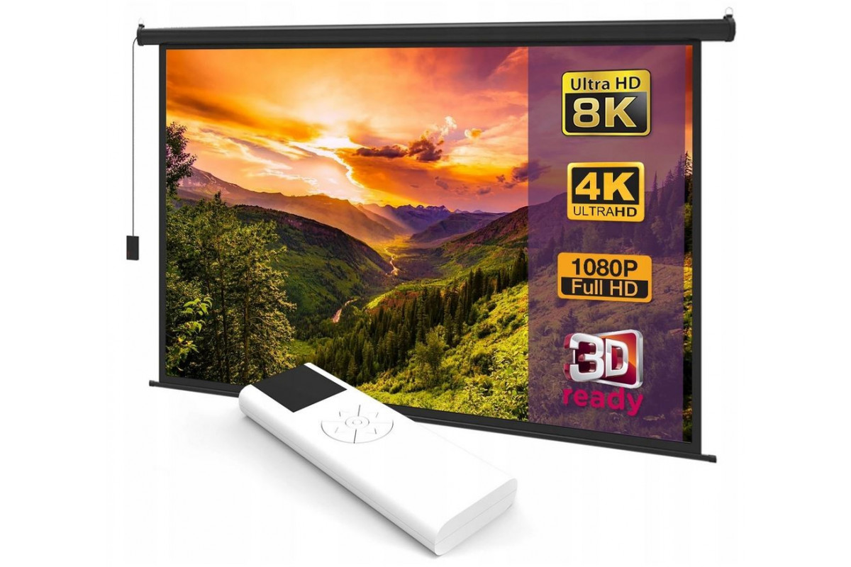 "Ekran SLIM+ Electric 265x150 cm (120"")"