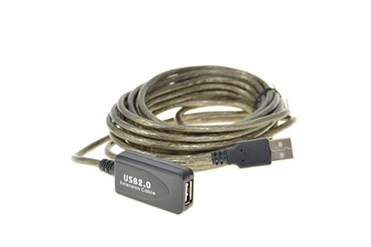 Przedłużacz USB aktywny 20m