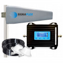 Wzmacniacz GSM/UMTS LCD3000 z wbudowaną anteną + Tajfun II z 2x grzybkiem