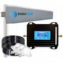 Wzmacniacz GSM/DCS LCD3000 z wbudowaną anteną + Tajfun II z 3x grzybkiem