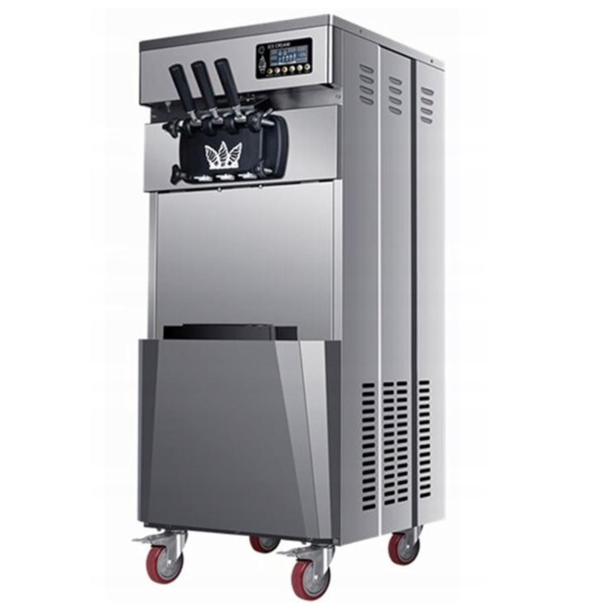 Maszyna do lodów włoskich marki Sonoro bokiem