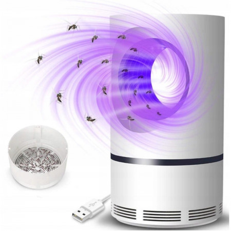 Ultramocna lampa owadobójcza USB UV 368nm