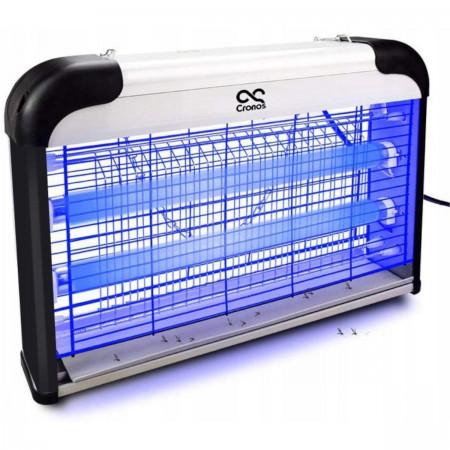 Lampa owadobójcza 2x świetlówki UV-A 30W