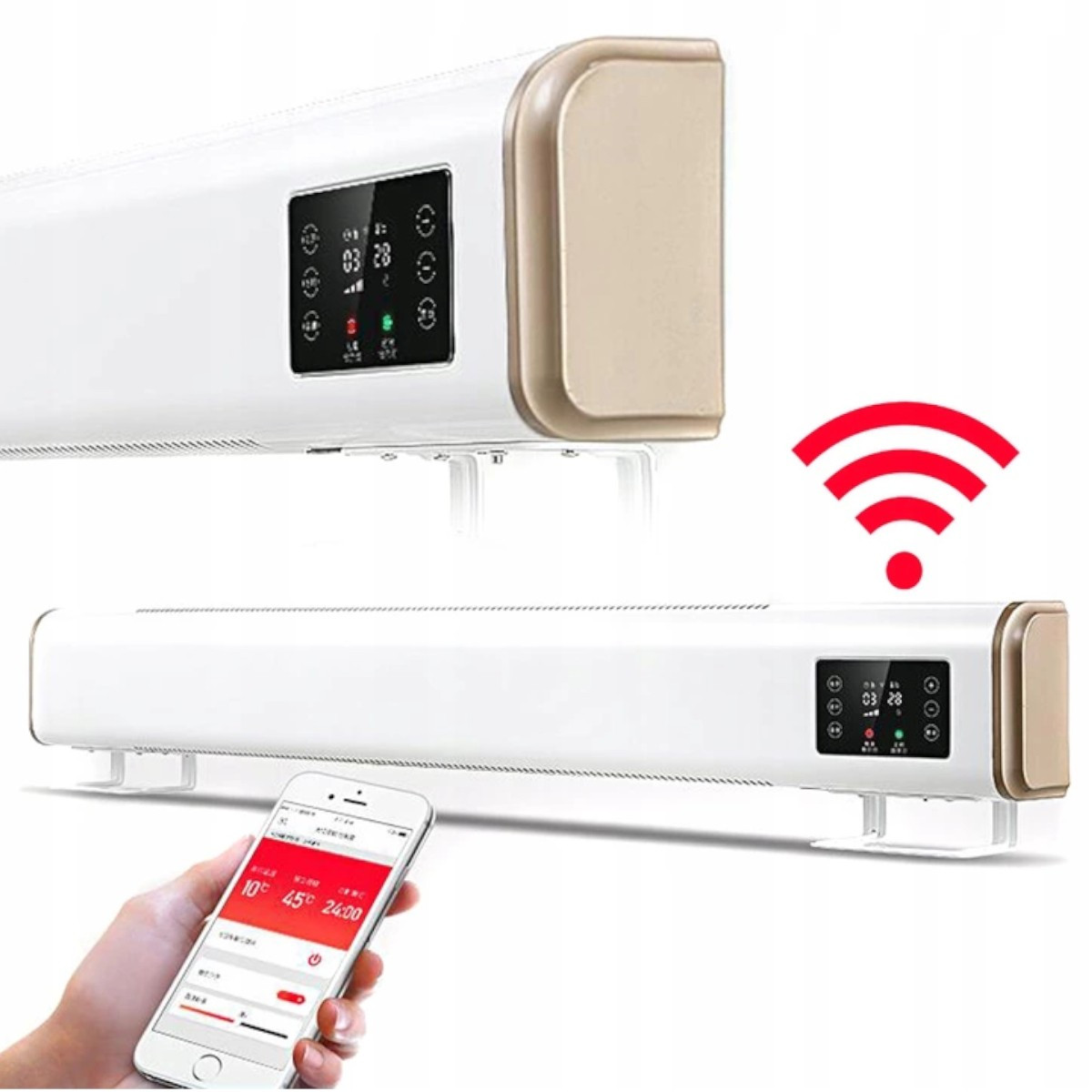 Grzejnik elektryczny Cronos 2100W z WiFi