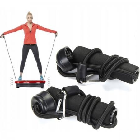 Pasy treningowe do ćwiczeń na platformie wibracyjnej